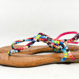 Primary Photo - BRAND: GIANNI BINI STYLE: SANDALS FLAT COLOR: MULTI SIZE: 10 SKU: 213-213135-6915