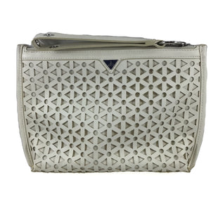 Primary Photo - BRAND: SAM EDELMAN STYLE: CLUTCH COLOR: WHITE SKU: 213-21394-42696SILVER, IVORY, OFF WHITE