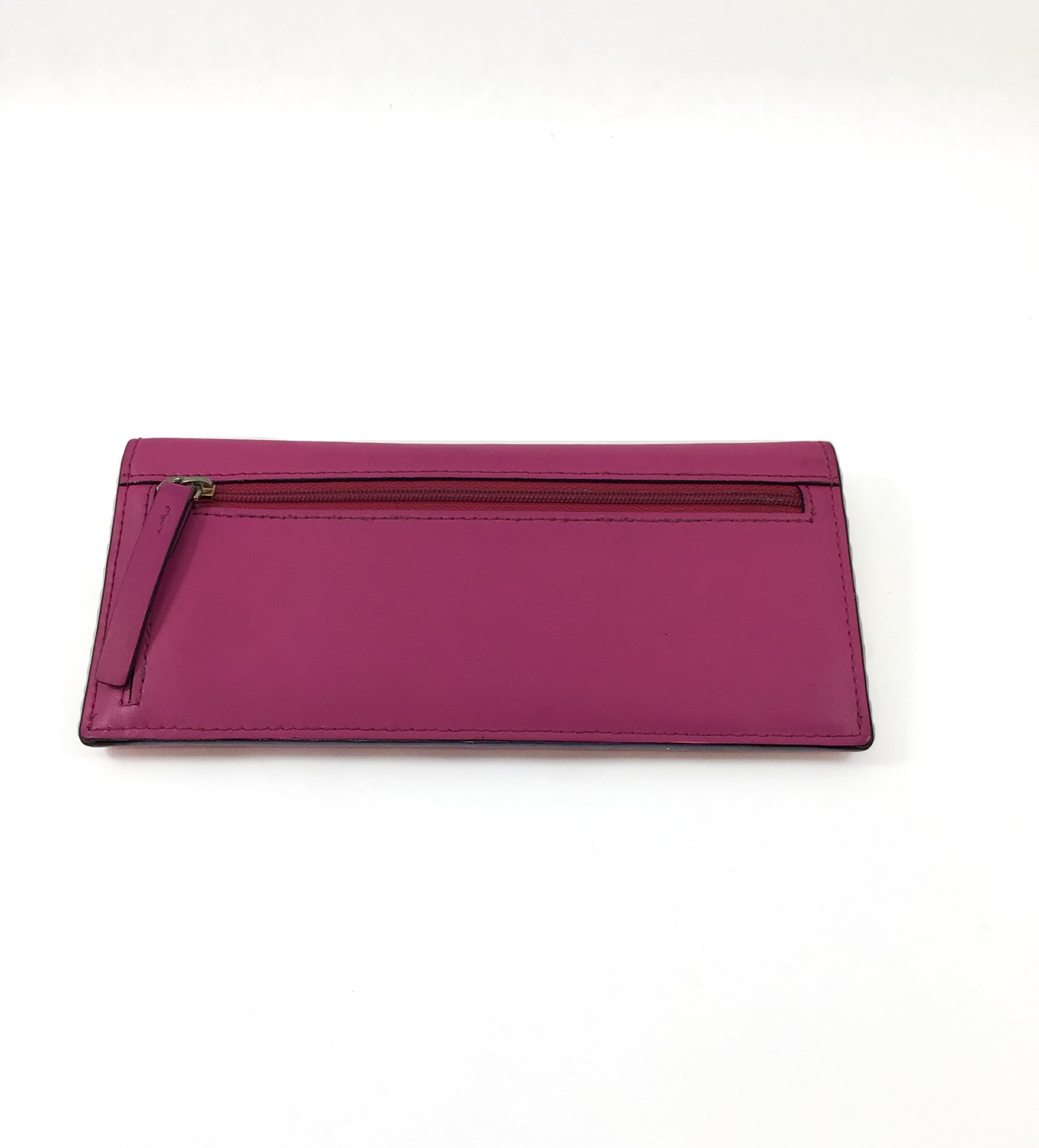 Photo #1 - BRAND: KATE SPADE <BR>STYLE: WALLET <BR>COLOR: HOT PINK <BR>SIZE: SMALL <BR>SKU: 213-213143-10389