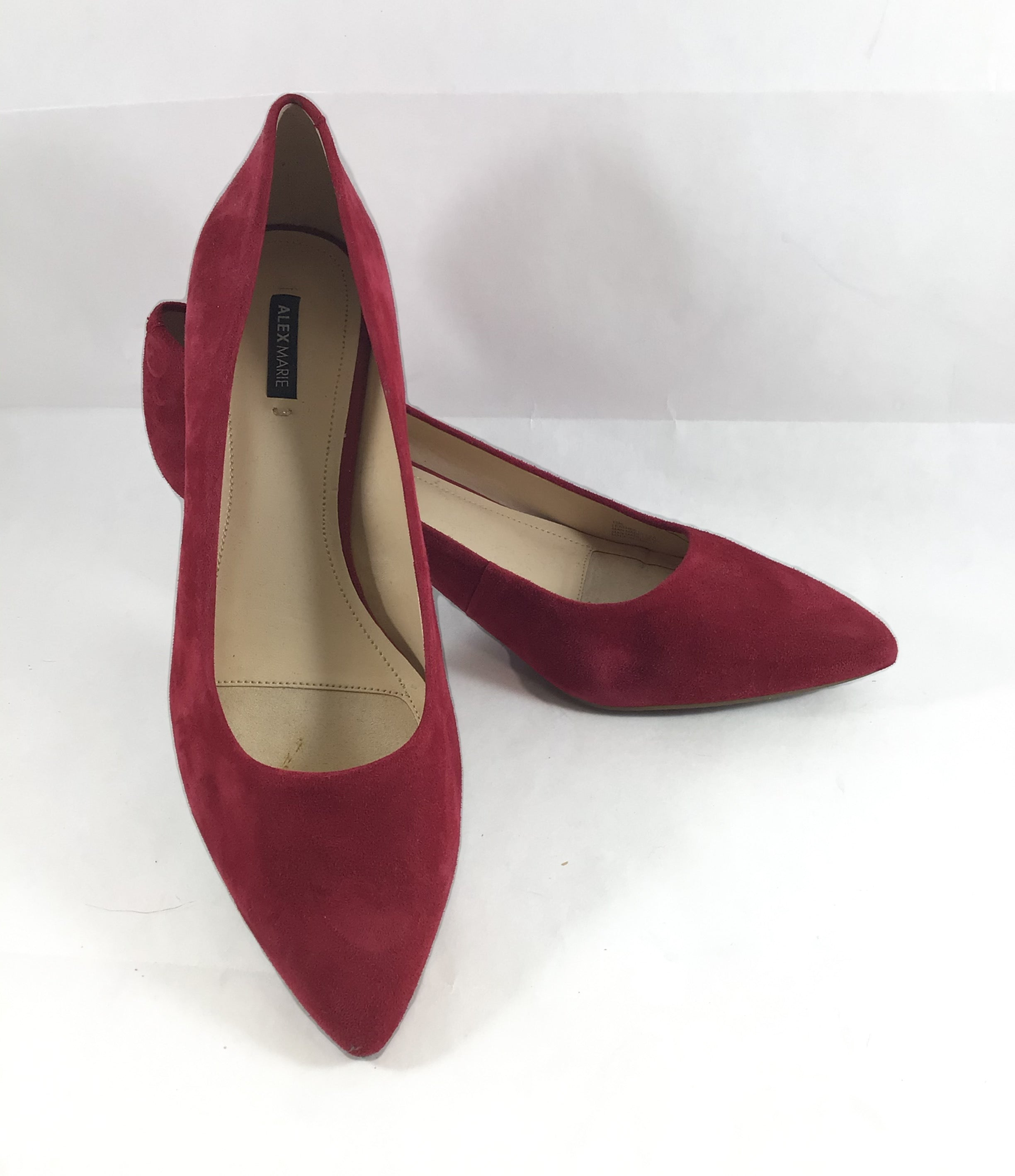 Primary Photo - BRAND: ALEX MARIE <BR>STYLE: SHOES LOW HEEL <BR>COLOR: RED <BR>SIZE: 10 <BR>SKU: 213-21394-38314