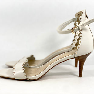 Primary Photo - BRAND: COACH STYLE: SHOES HIGH HEEL COLOR: CREAM SIZE: 6.5 SKU: 213-213106-28712