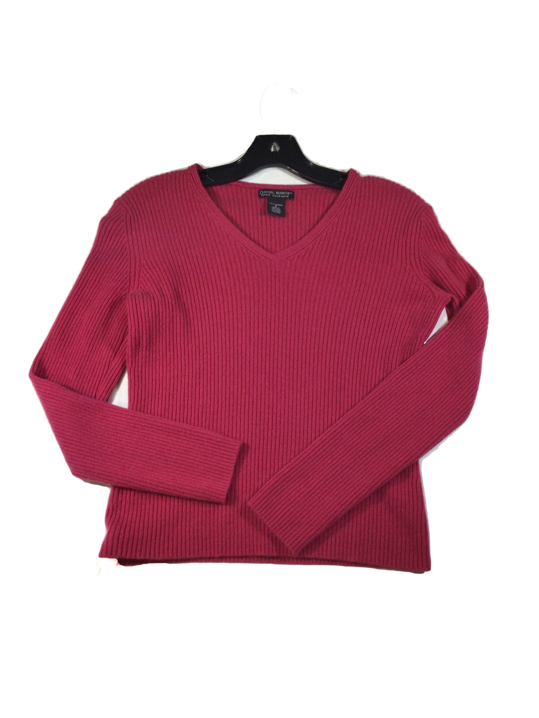 Primary Photo - BRAND:    CLOTHES MENTOR <BR>STYLE: SWEATER CASHMERE <BR>COLOR: PINK <BR>SIZE: S <BR>OTHER INFO: DANIEL BISHOP - <BR>SKU: 213-213143-9204