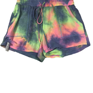 Primary Photo - BRAND:    CLOTHES MENTOR STYLE: ATHLETIC SHORTS COLOR: TIE DYE SIZE: L OTHER INFO: VICI - SKU: 213-21394-41929