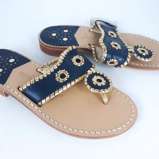 Primary Photo - BRAND: JACK ROGERSSTYLE: SANDALS FLATCOLOR: NAVYSIZE: 5SKU: 213-213118-22943