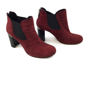 Primary Photo - BRAND: DONALD J PILNER STYLE: BOOTS ANKLE COLOR: RED SIZE: 6.5 SKU: 213-213153-218