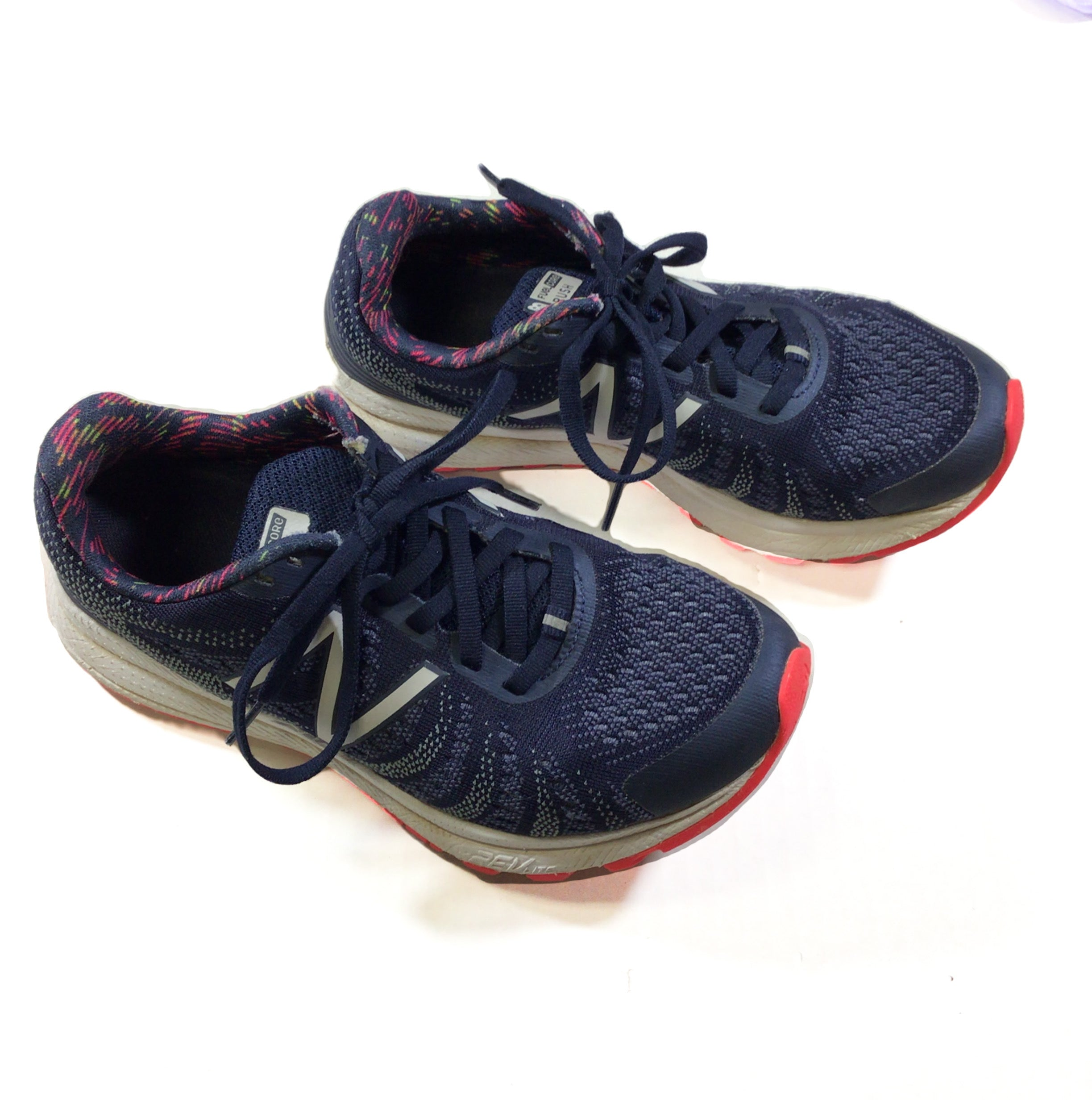 Primary Photo - BRAND: NEW BALANCE <BR>STYLE: SHOES ATHLETIC <BR>COLOR: BLUE <BR>SIZE: 7 <BR>SKU: 213-213106-26769