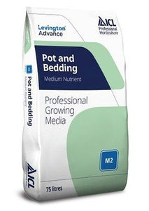 Levington Advance Pot & Bedding M2 Compost 75L
