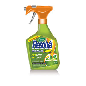 Resolva Lawn Weedkiller Extra Ready To Use 1L