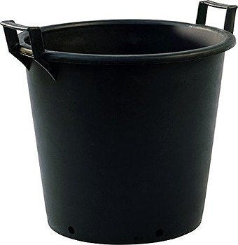 Large Plastic Container Pot With Handles 60L