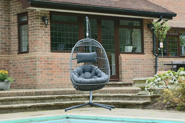 Hanging Outdoor Egg Chair Cocoon (Free Cover Worth £49.99)