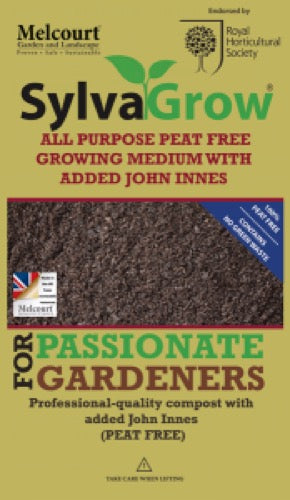 Compost Melcourt Sylvagrow All Purpose with Added John Innes 50L