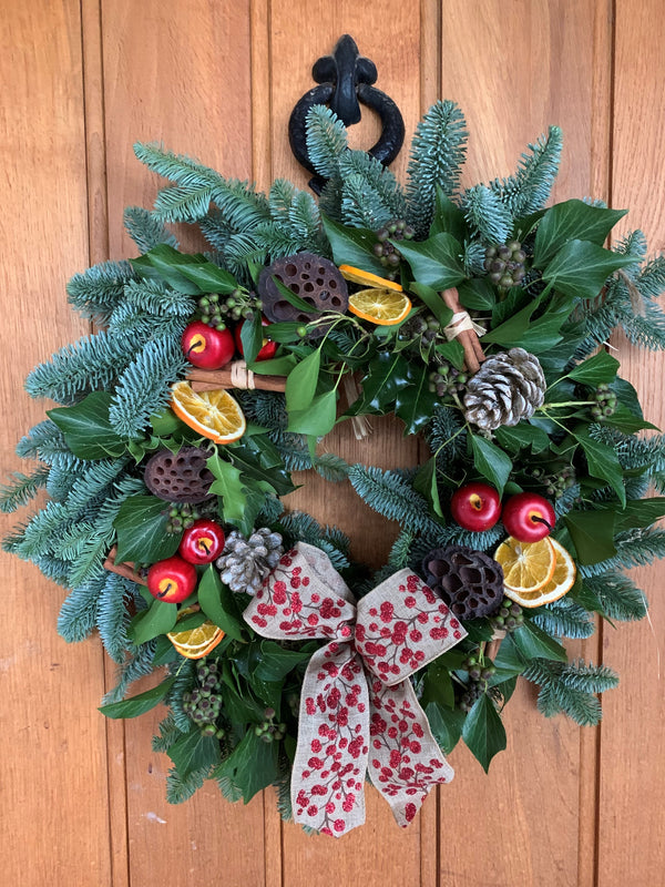 Christmas Handmade Door Wreath