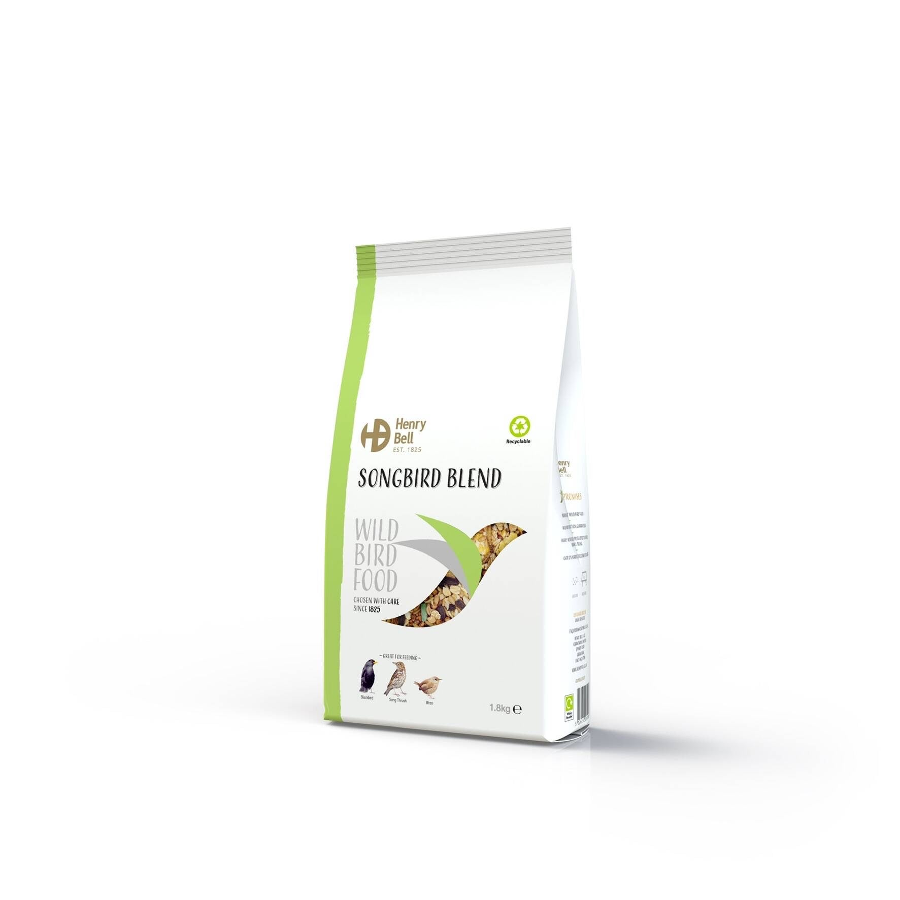 Henry Bell Songbird Blend Wild Bird Food 1.8kg