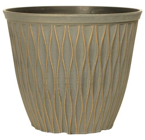 Laval Planter 26cm Patina Bronze