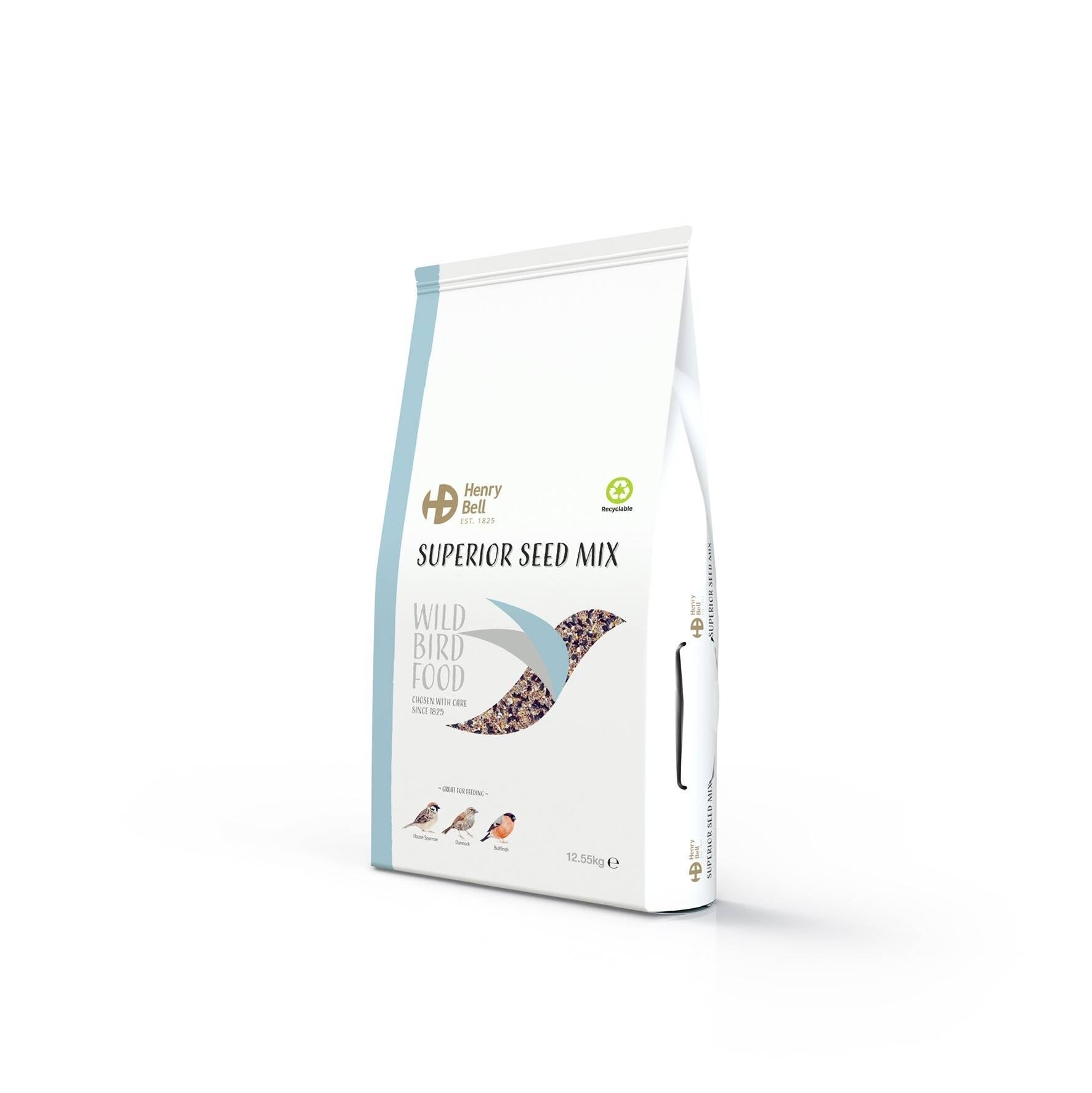 Henry Bell Superior Seed Mix Wild Bird Food 2kg