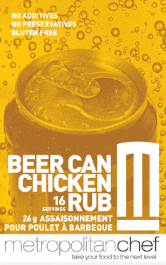Metropolitan Chef Beer Can Chicken