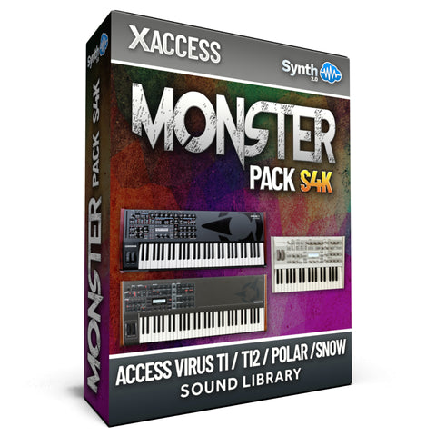 LDX206 - Monster Pack S4K - Access Virus TI / TI2 / Polar / Snow