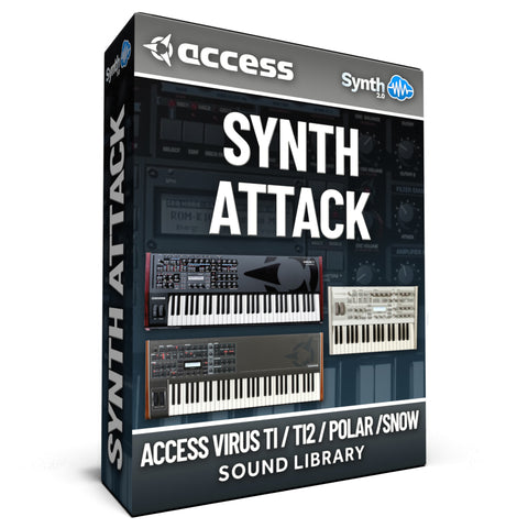 LDX203 - Synth Attack - Access Virus TI / TI2 / Polar / Snow