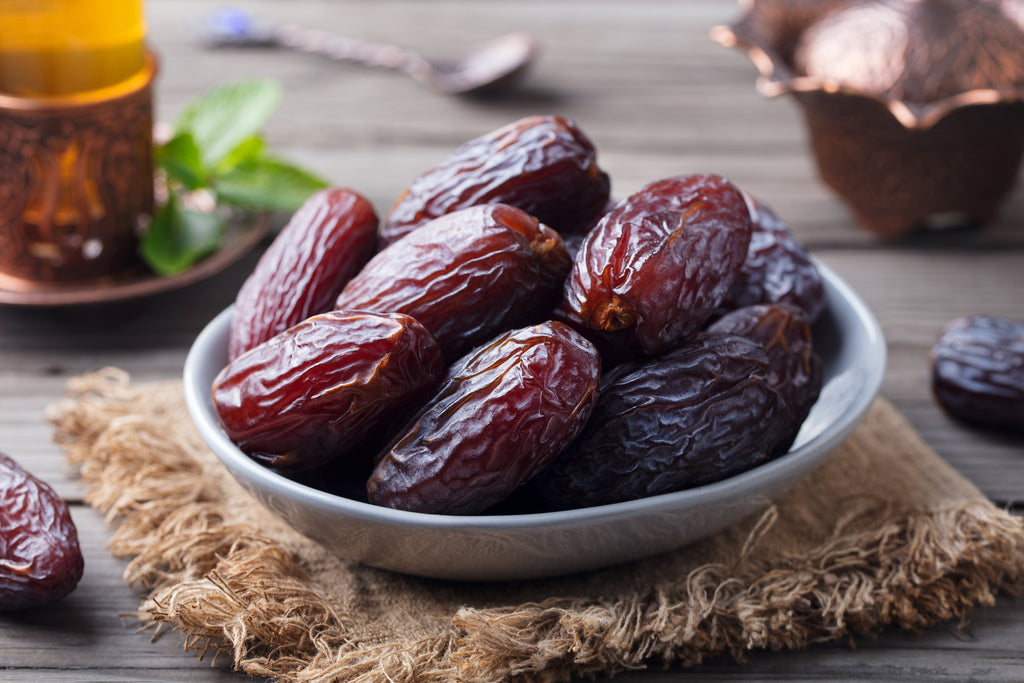 Handful of Health, bowl of Medjoul Dates