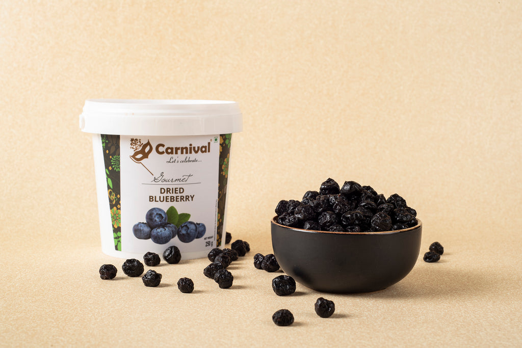 Carnival dried blueberry