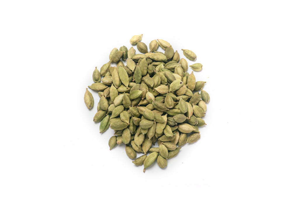 cardamom on a white background