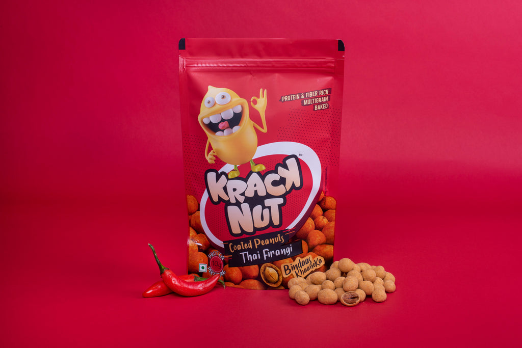 110g pack of Kracknut Thai Firangi