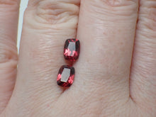 Load image into Gallery viewer, 2.2ct Garnet Matching Pair   #G106