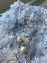 Load image into Gallery viewer, Dew Drop Dangle Hoops