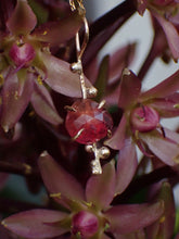 Load image into Gallery viewer, Tangerine in Bloom Pendant