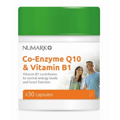 co-enzyme Q10 &vitamin B1