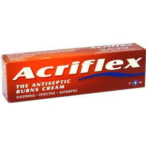Acriflex Antiseptic Burns Cream 30g