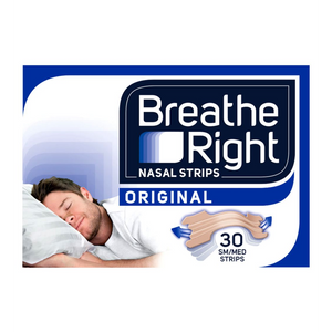 Breathe right nasal strips x30