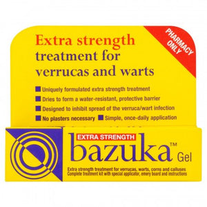 Bazuka Verruca Gel Extra Strength - 5g
