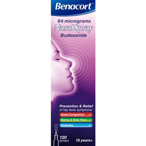 Benacort 64 Micrograms Nasal Spray – 10ml