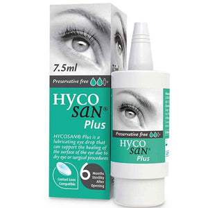Hycosan Plus Eye Drops 7.5ml