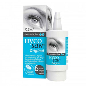 Hycosan Original 0.1% Eye Drops - 7.5ml