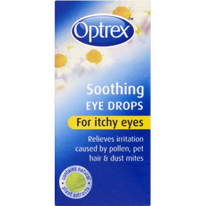 Optrex Soothing Eye Drops For Itchy Eyes - 10m
