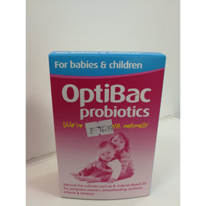 Optibac for babies and children x30 sach