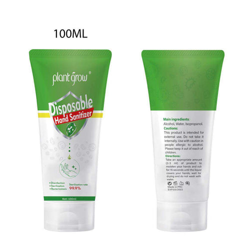 Plant Grow Disposable Hand Sanitizer 100ml - Optipharm Pharmacy (王药师大药房)