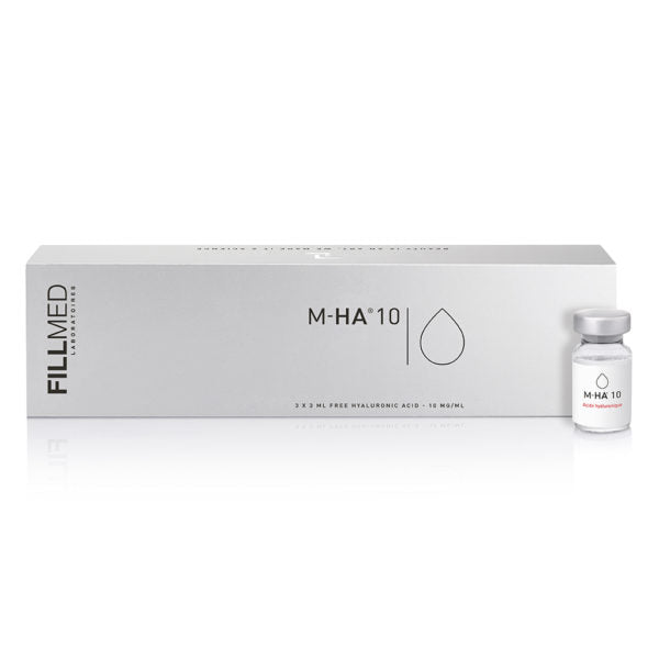 Fillmed MHA10 3 X 3ML VIALS. INJECTION KIT. PURE, UNCROSS LINKED HYALURONIC ACID