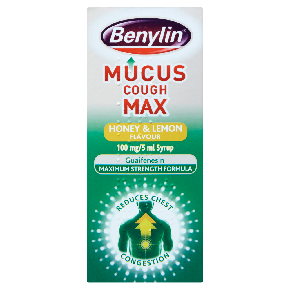 Benylin Mucus Cough Max Honey & Lemon - 150ml