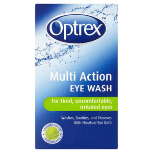 Optrex Multi Action Eye Wash – 100ml 多用途洗眼液-100ml