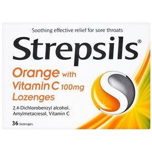 Strepsils lozenges - Optipharm Pharmacy (王药师大药房)