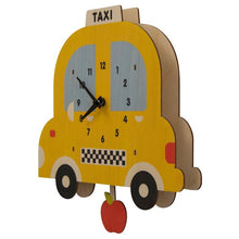 Load image into Gallery viewer, Taxi pendulum clock