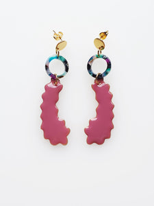 Gumdrop Earrings -Two Colours available