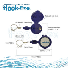 Hook-Eze Large Knot Tying Tool (Twin Pack)