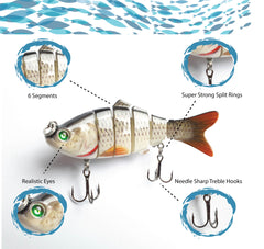 Hook-Eze Segmented Lure