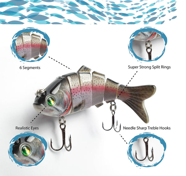 Hook-Eze Segmented Lure's