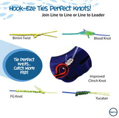 Hook-Eze Knot Tying Tool (Twin Pack)