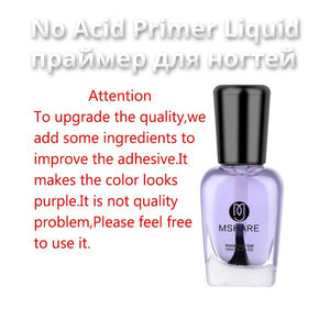 Nail Prep Dehydrator Primer Acid Free Fit for Acrylic Nails Bonder  Bond 15ml